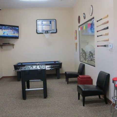 Billiards & Entertainment Room