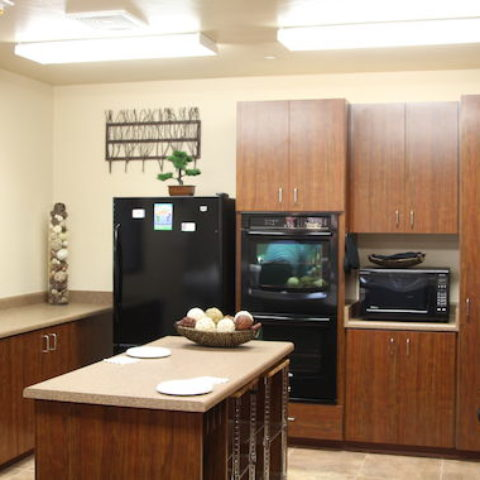 Multi-Purpose Room Kitchen